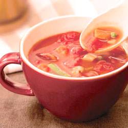 ほっくり スープカップ レッド 450ml