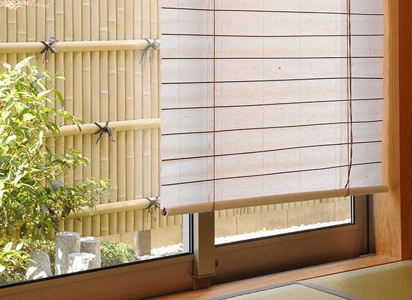 自然で柔らかな光を届けてくれる和紙と不織布を使用