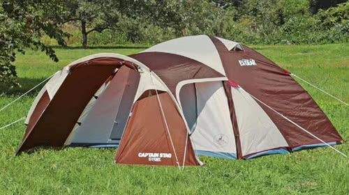 テント UA-18 エクスギア ツールームドーム270 4~5人用 キャリーバッグ付