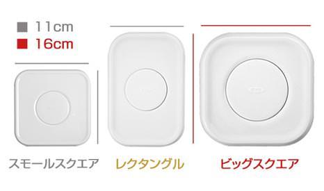 3種類のフタの形状
