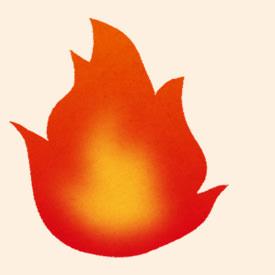 6.火に強く燃えにくい