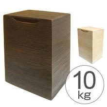 米びつ 桐製 縦型 10kg