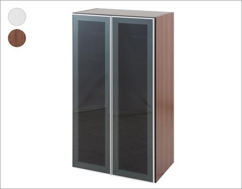 中台 ガラス扉付ラック 幅60cm