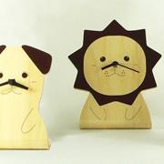 置き時計 ヤマト工芸 yamato ANIMAL CLOCK