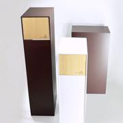 ゴミ箱 ヤマト工芸 yamato 木製 DOORS S 20L