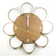 掛け時計 ヤマト工芸 yamato FLOWER CLOCK