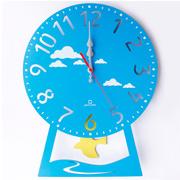 振り子時計 ヤマト工芸 yamato CHILD clock はと