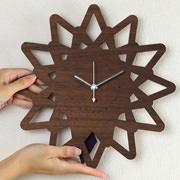 振り子時計 ヤマト工芸 yamato 壁掛け pattern clock とげ S