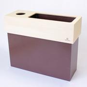 ティッシュケース ゴミ箱 ヤマト工芸 yamato dust&tissue case CUBE