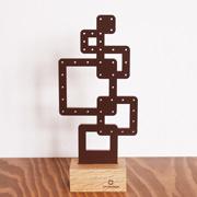 ピアスホルダー ヤマト工芸 yamato -幾何学- 四角