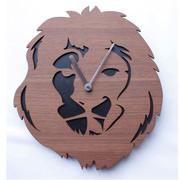 掛け時計 ヤマト工芸 yamato real animal clock ライオン