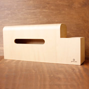ティッシュケース ヤマト工芸 yamato BOOTS 小物収納付きティッシュケース