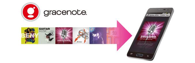 曲情報はGracenote MusicIDreg;で自動取得