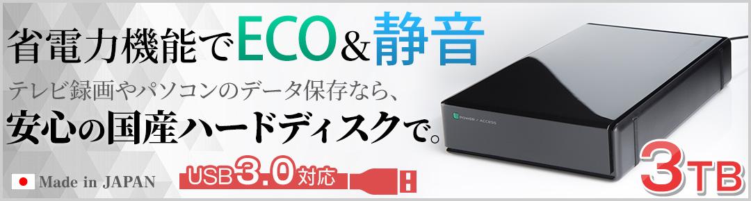 外付けハードディスク3TB