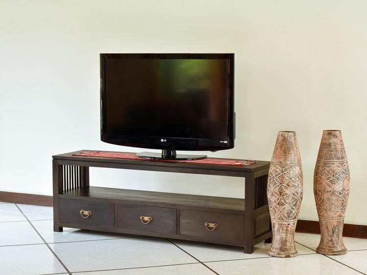 アンティークモダンテイスト木製TVボード【AS-069】
