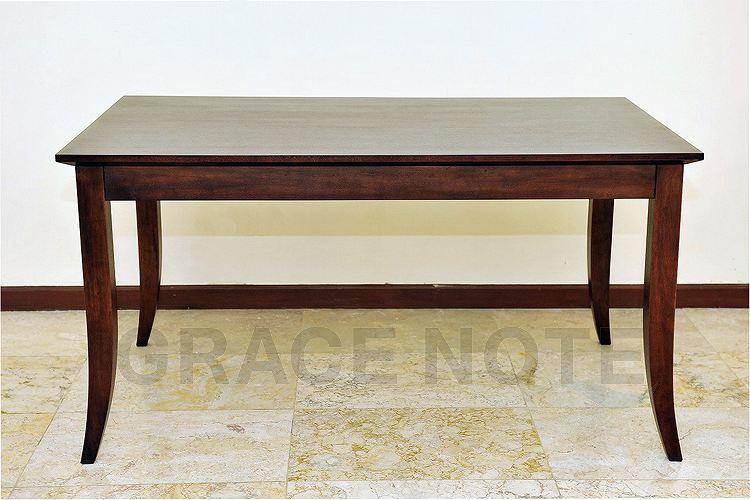 優美な曲線を描くエレガントなテーブル(DT-02)