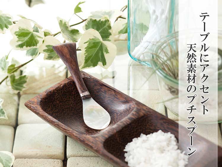 アジアン★【m-shell-spoon】マンゴーシェルスプーン