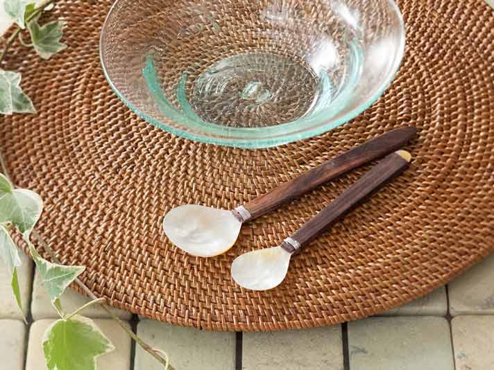 【m-shell-spoon】マンゴーシェルスプーン