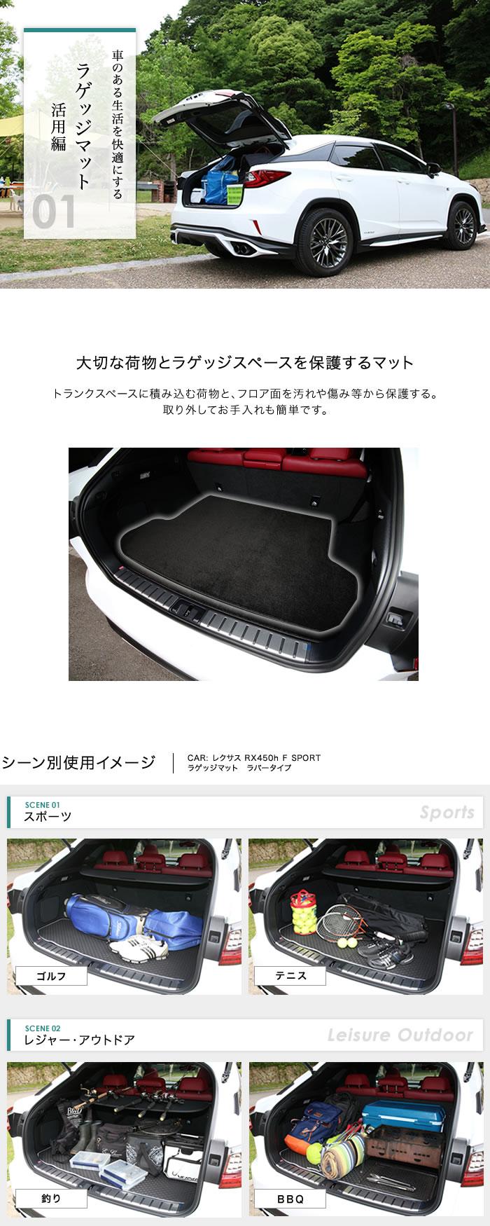 01ラゲッジマット活用編