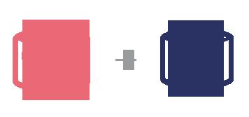 配送可能温度帯 商品A常温、商品B冷蔵