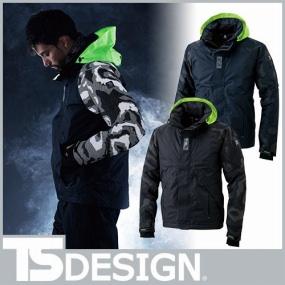 藤和 TS Design メガヒートフラッシュ防水防寒ジャケット 18236