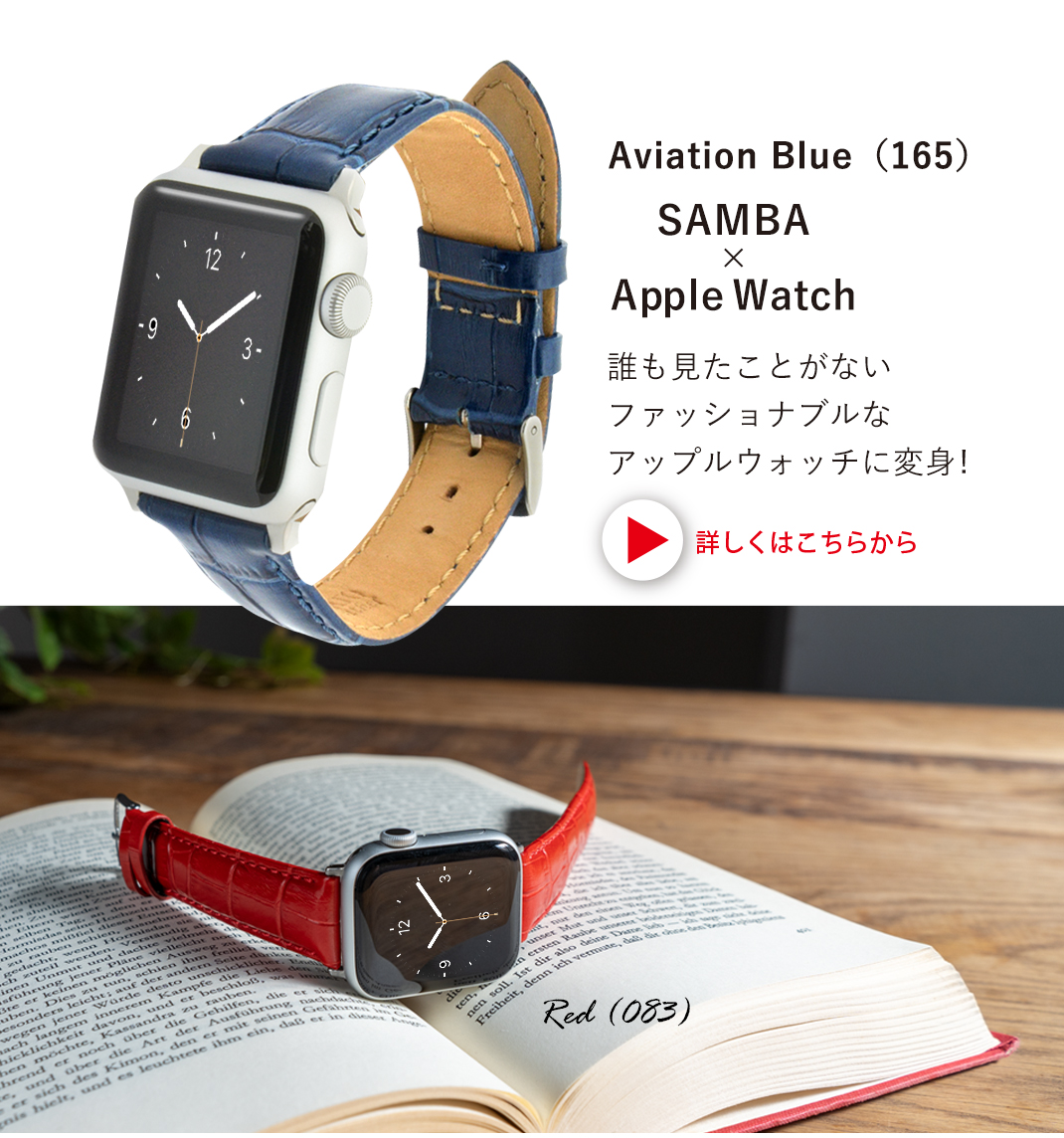 SAMBA (サンバ)装着イメージとカラー