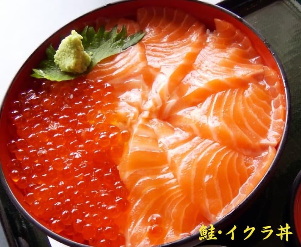 鮭・イクラ丼