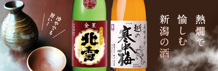 燗酒コンテスト金賞受賞!越の寒中梅、北雪金星 熱燗金賞受賞2本セット