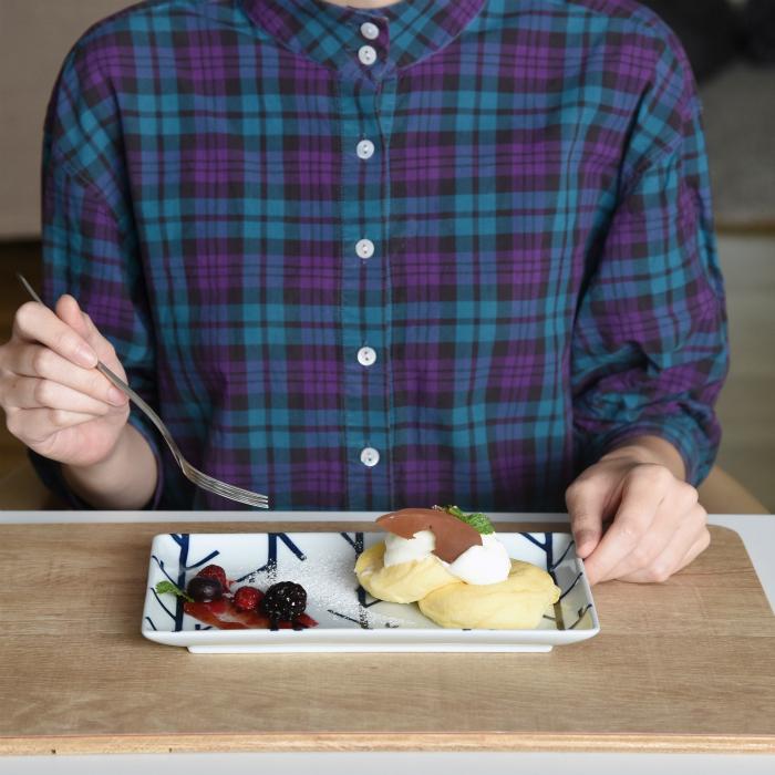 波佐見焼 北欧食器 和食器 おしゃれ natural69 swatch パンケーキ