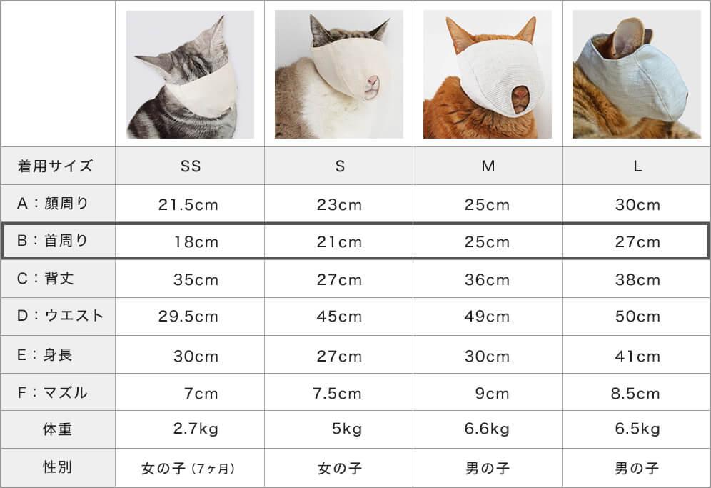 猫専用サイズ