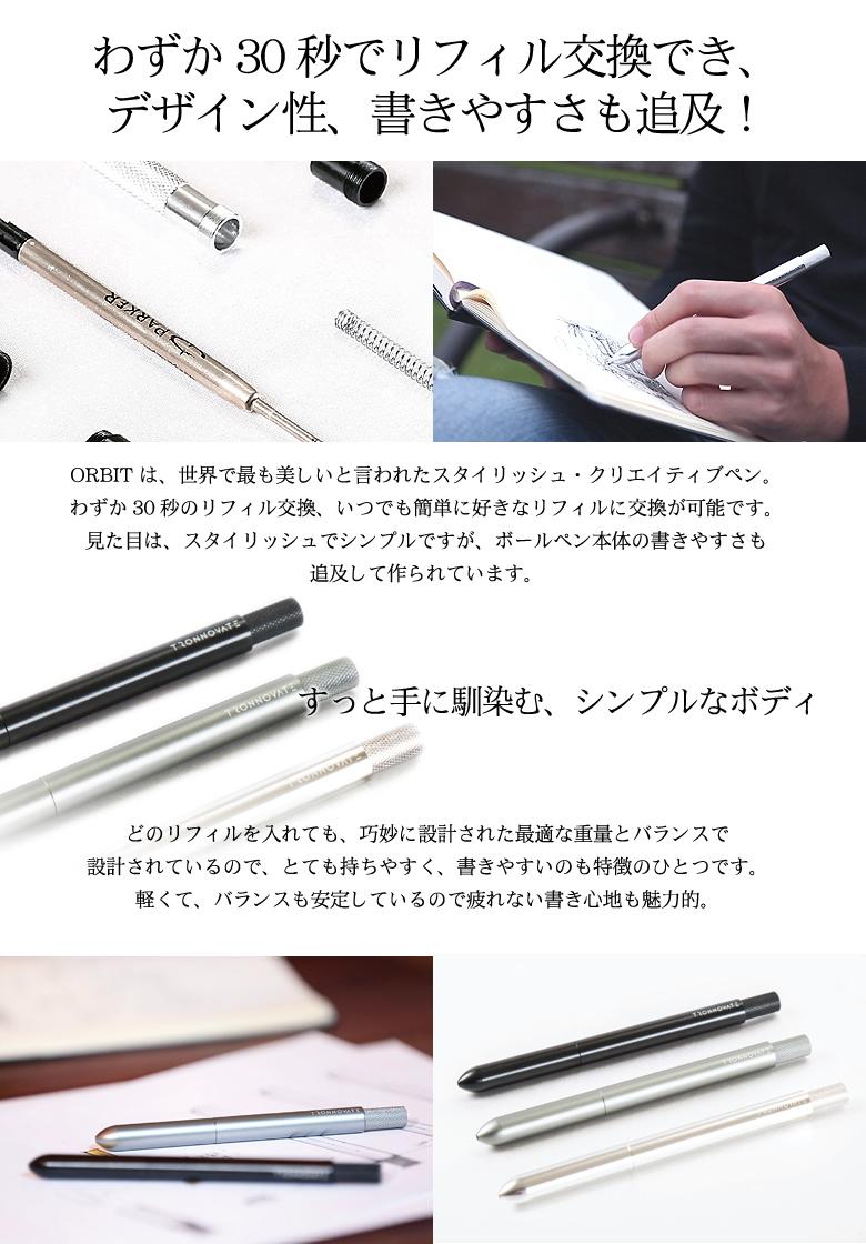 ボールペン クリエイティブペン リフィル
