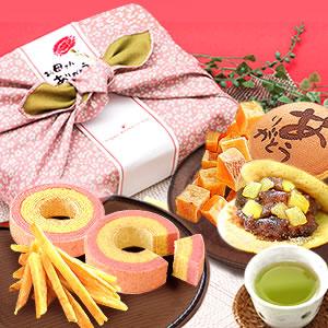 母の日 2018 風呂敷和菓子セット [常温]