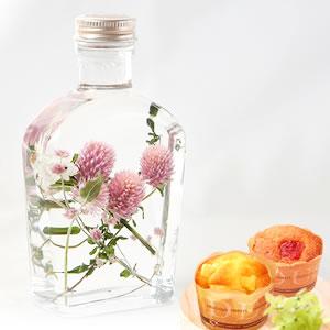 日比谷花壇母の日ハーバリウム【アンモビウム】
