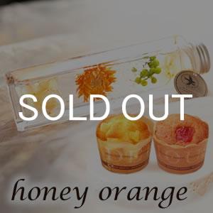 母の日 ハーバリウムM 通販 オレンジ