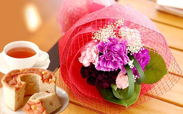 母の日 2018 ムーンダスト 花束(シフォン)