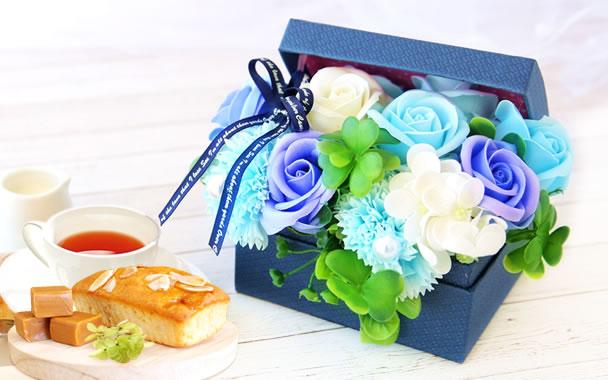母の日 プレゼント  プチハーモニー ブルー