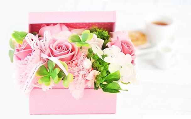 母の日 プレゼント  プチハーモニー ピンク