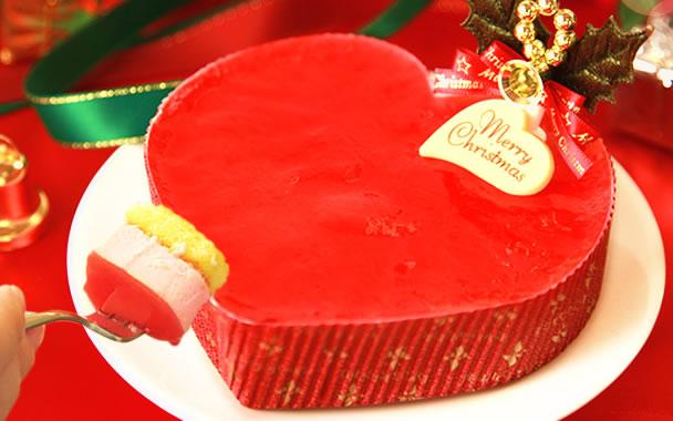 クリスマスプレゼント 2018 オススメ ストロベリーハートケーキ