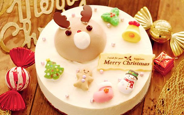 クリスマスプレゼント 2018 スイートポテトムース入り★トナカイのミルクケーキ