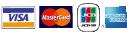 楽天銀行・VISA・MasterCard・JCB・AMERICAN EXPRESS