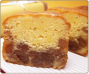 マロンいっぱいのパウンドケーキ
