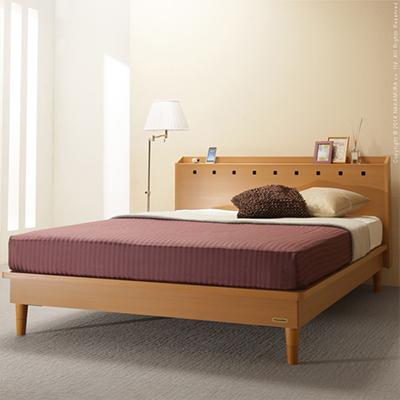 MORGAN(モルガン) 宮付き3段階高さ調節ベッド