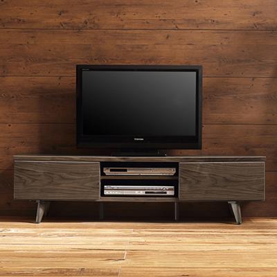 OLAND150(オーランド) 背面収納付きウォールナットTVボード