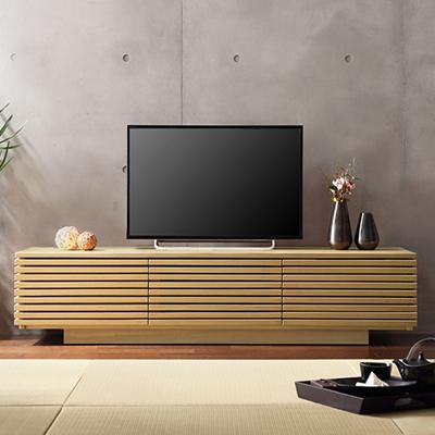 SARTO150(サルト) 背面収納付き格子TVボード