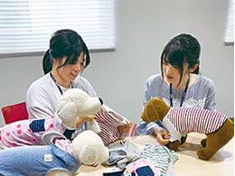 フィット感を向上させる丁寧な縫製