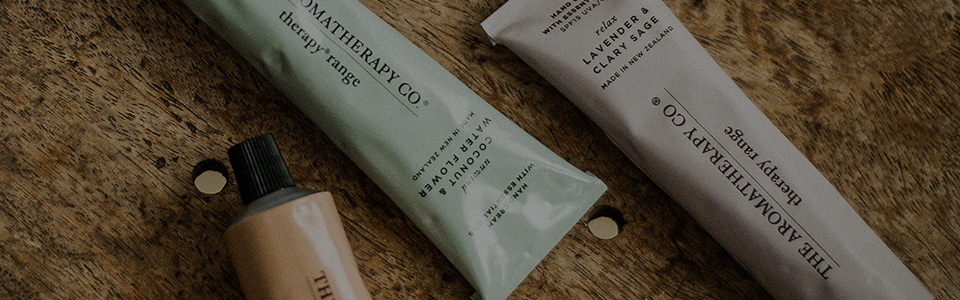 THE AROMATHERAPY CO. Therapy Rangeメニュー