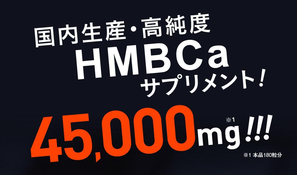 高純度高配合HMB45000mg