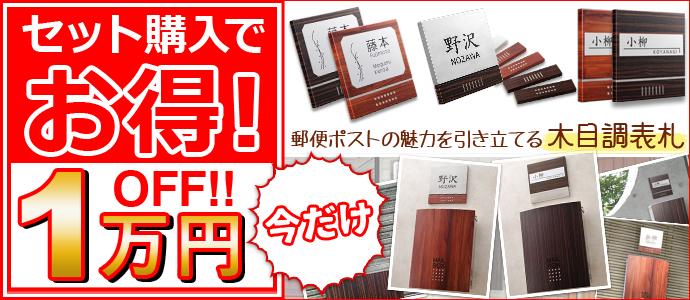 セット購入でお得!今だけ1万円OFF!