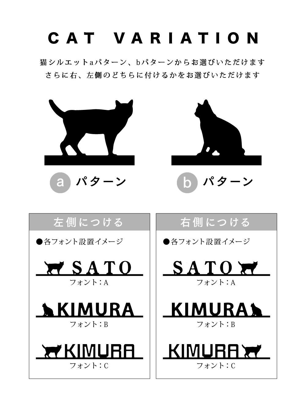 猫シルエット情報