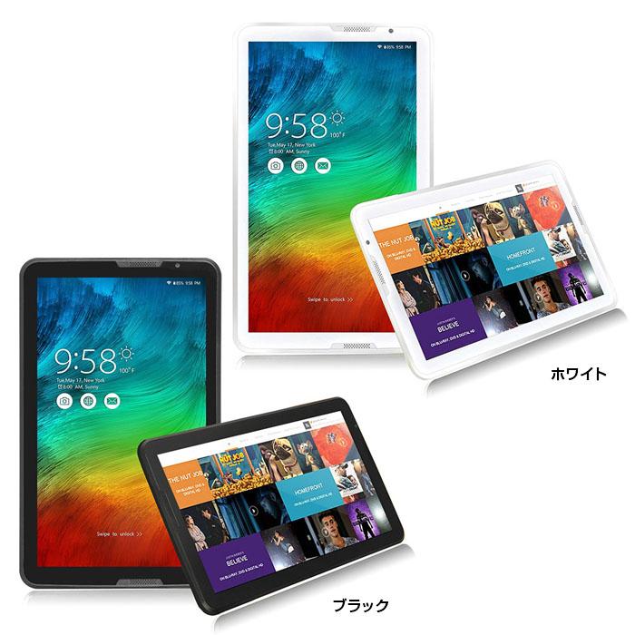 10.6/インチ/Android/5.1/タブレット/RAM1GB/16GB/クアッドコア/1.8GHz/1366x768/IPS/lollipop/搭載/microSD/対応/◇K1066